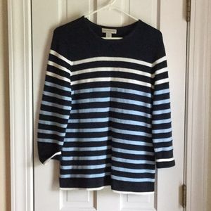 Christopher & Banks Cotton Sweater NWOT